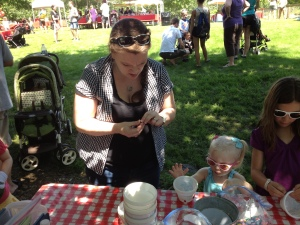 2011- Craft at Foster Family Picnic