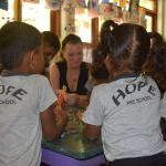 2014- Sri Lanka, Jennifer Visiting Hope Preschool