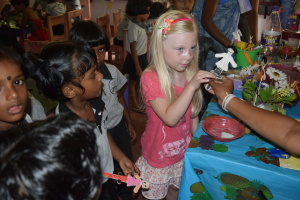 Anika Visiting Hope Preschool In Sri Lanka