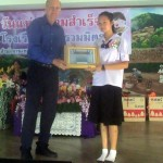 2014- Thailand, Gary giving out scholarships!