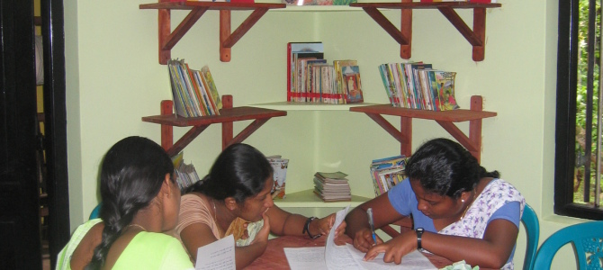 CYDC – Teachers in Library