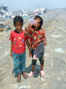 Dump Children, Cambodia